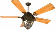 Craftmade K10731 Olivier Aged Bronze Textured Indoor / Outdoor 70  Ceiling Fan