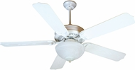 Craftmade K10738 Porch Fan White Fluorescent Outdoor 52  Ceiling Fan