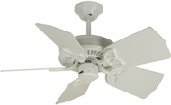 Craftmade K10743 Piccolo White Indoor / Outdoor 30  Ceiling Fan