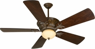 Craftmade K10744 Pavilion Aged Bronze Textured Indoor / Outdoor 54  Home Ceiling Fan
