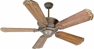 Craftmade K10750 Riata Aged Bronze Textured Indoor 56  Ceiling Fan