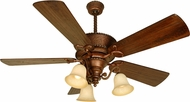 Craftmade K10751 Riata Burnt Sienna Fluorescent Indoor 54  Home Ceiling Fan