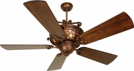 Craftmade K10765 Toscana Peruvian Bronze Indoor 54  Home Ceiling Fan