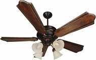 Craftmade K10773 Townsend Oiled Bronze Indoor 56  Home Ceiling Fan
