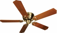 Craftmade K10776 Pro Universal Hugger Antique Brass Indoor 52  Home Ceiling Fan