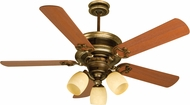 Craftmade K10782 Woodward Dark Coffee/Vintage Madera Fluorescent Indoor 52  Home Ceiling Fan