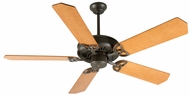 Craftmade K10812 American Tradition Aged Bronze Textured Indoor 52  Ceiling Fan