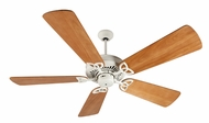 Craftmade K10821 American Tradition Antique White Indoor 54  Ceiling Fan