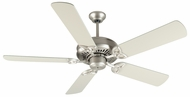 Craftmade K10825 American Tradition Brushed Satin Nickel Indoor 52  Ceiling Fan