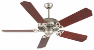 Craftmade K10826 American Tradition Brushed Satin Nickel Indoor 52  Home Ceiling Fan