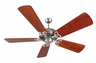 Craftmade K10829 American Tradition Brushed Satin Nickel Indoor 54  Home Ceiling Fan