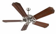 Craftmade K10830 American Tradition Brushed Satin Nickel Indoor 56  Ceiling Fan