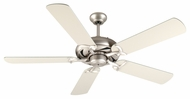 Craftmade K10851 Civic Brushed Satin Nickel Indoor 52  Ceiling Fan