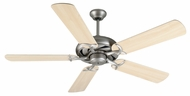 Craftmade K10852 Civic Brushed Satin Nickel Indoor 52  Home Ceiling Fan