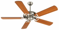 Craftmade K10853 Civic Brushed Satin Nickel Indoor 52  Ceiling Fan