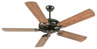 Craftmade K10854 Civic Oiled Bronze Indoor 52  Home Ceiling Fan
