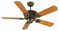 Craftmade K10870 Chaparral Aged Bronze Textured Indoor / Outdoor 52  Home Ceiling Fan