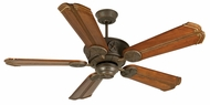 Craftmade K10873 Chaparral Aged Bronze Textured Indoor / Outdoor 56  Ceiling Fan