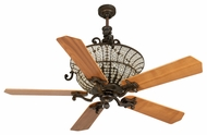 Craftmade K10875 Cortana Peruvian Bronze Halogen Indoor 52  Ceiling Fan