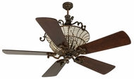 Craftmade K10878 Cortana Peruvian Bronze Halogen Indoor 54  Home Ceiling Fan