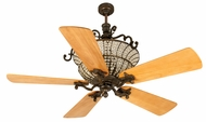 Craftmade K10879 Cortana Peruvian Bronze Halogen Indoor 54  Ceiling Fan