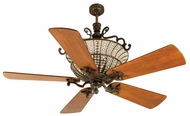 Craftmade K10880 Cortana Peruvian Bronze Halogen Indoor 54  Home Ceiling Fan