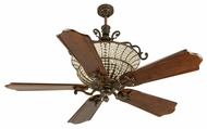 Craftmade K10881 Cortana Peruvian Bronze Halogen Indoor 56  Ceiling Fan