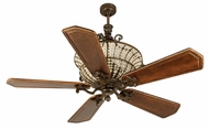 Craftmade K10882 Cortana Peruvian Bronze Halogen Indoor 56  Home Ceiling Fan
