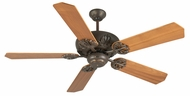Craftmade K10900 Cordova Aged Bronze Textured Indoor 52  Ceiling Fan