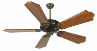 Craftmade K10962 CXL Flat Black Indoor 56  Home Ceiling Fan