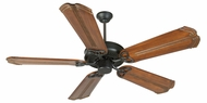 Craftmade K10963 CXL Flat Black Indoor 56  Ceiling Fan