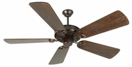 Craftmade K10968 CXL Oiled Bronze Indoor 54  Home Ceiling Fan