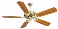 Craftmade K10974 CXL Polished Brass Indoor 52  Home Ceiling Fan