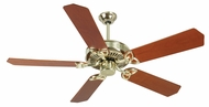 Craftmade K10976 CXL Polished Brass Indoor 52  Home Ceiling Fan