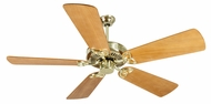 Craftmade K10978 CXL Polished Brass Indoor 54  Home Ceiling Fan