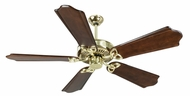 Craftmade K10980 CXL Polished Brass Indoor 56  Home Ceiling Fan
