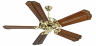 Craftmade K10981 CXL Polished Brass Indoor 56  Ceiling Fan
