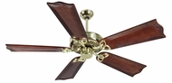 Craftmade K10982 CXL Polished Brass Indoor 56  Home Ceiling Fan