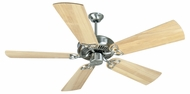 Craftmade K10983 CXL Stainless Steel Indoor 52  Ceiling Fan