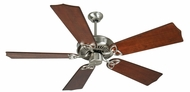 Craftmade K10988 CXL Stainless Steel Indoor 56  Ceiling Fan