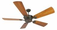 Craftmade K10992 DC Epic Aged Bronze Textured Indoor / Outdoor 70  Ceiling Fan