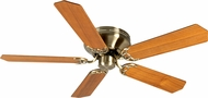 Craftmade K10997 Pro Contemporary Flushmount Antique Brass Indoor 52  Ceiling Fan