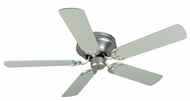 Craftmade K11000 Pro Contemporary Flushmount Brushed Satin Nickel Indoor 52  Ceiling Fan