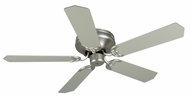 Craftmade K11001 Pro Contemporary Flushmount Brushed Satin Nickel Indoor 52  Home Ceiling Fan