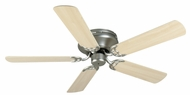 Craftmade K11002 Pro Contemporary Flushmount Brushed Satin Nickel Indoor 52  Ceiling Fan