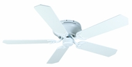 Craftmade K11006 Pro Contemporary Flushmount White Indoor 52  Ceiling Fan