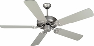 Craftmade K11007 CXL Brushed Satin Nickel Indoor 52  Home Ceiling Fan