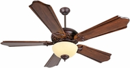 Craftmade K11011 Mia Oiled Bronze Gilded Fluorescent Indoor 56  Ceiling Fan