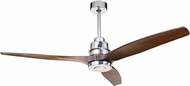 Craftmade K11068 Sonnet Contemporary Chrome LED Indoor 60 Home Ceiling Fan