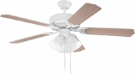 Craftmade K11115 Pro Builder 205 White Indoor 52  Ceiling Fan